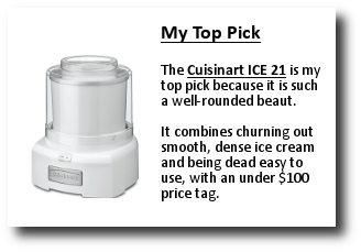 Cuisnart ice-21 specs